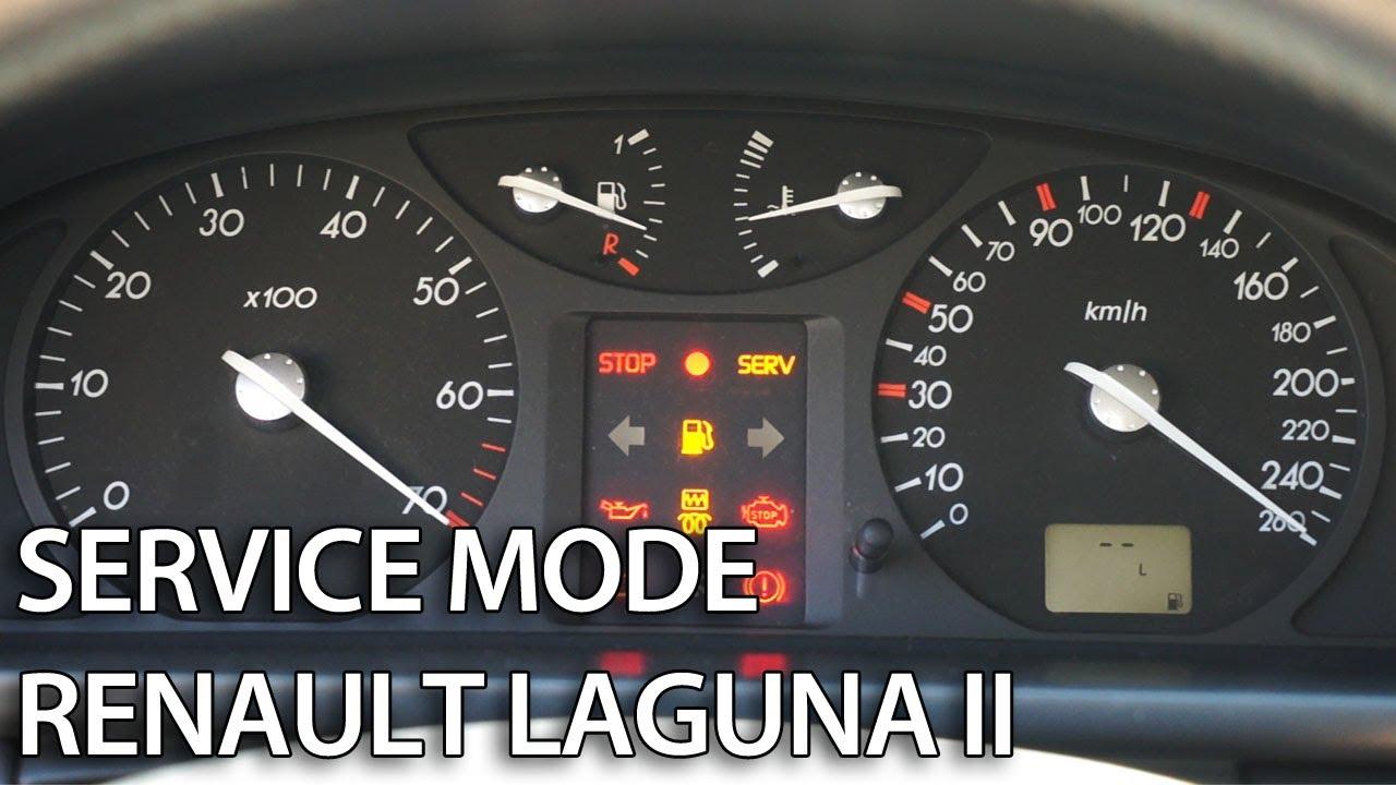 Hidden Menu Renault Laguna Ii Mr Fix Info