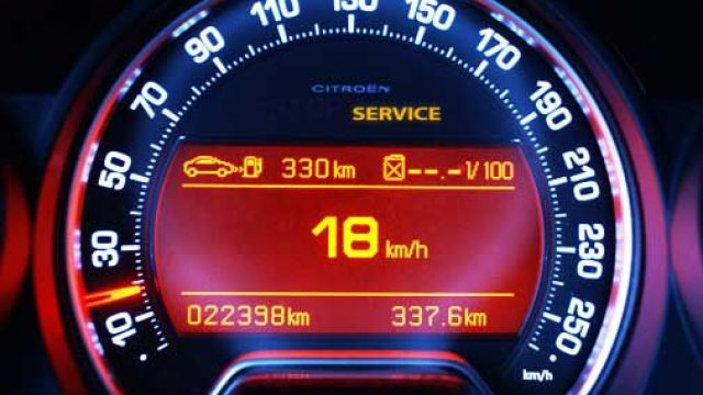 How to reset service indicator Citroen C5
