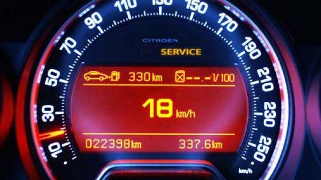 How to reset service indicator Citroen C5