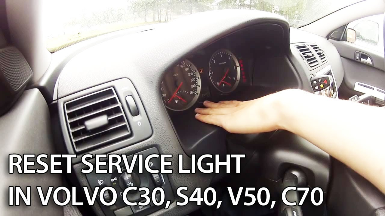 Volvo reset service reminder indicator - mr-fix.info