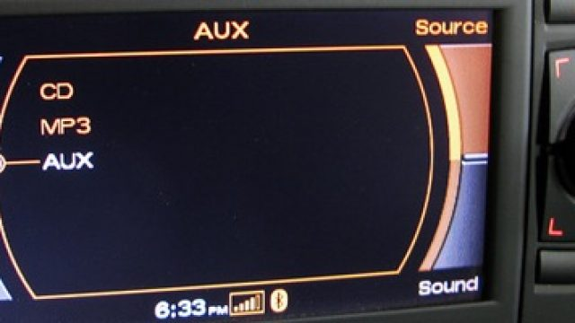 Audi RNS-E audio aux activation and wiring
