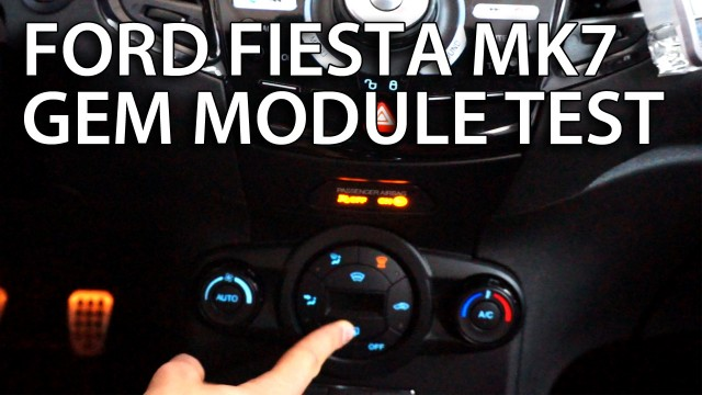 Ford Fiesta MK7 GEM test