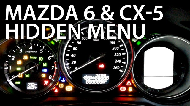 Mazda 6 Radio Hidden Menu Service Mode Mr Fix Info