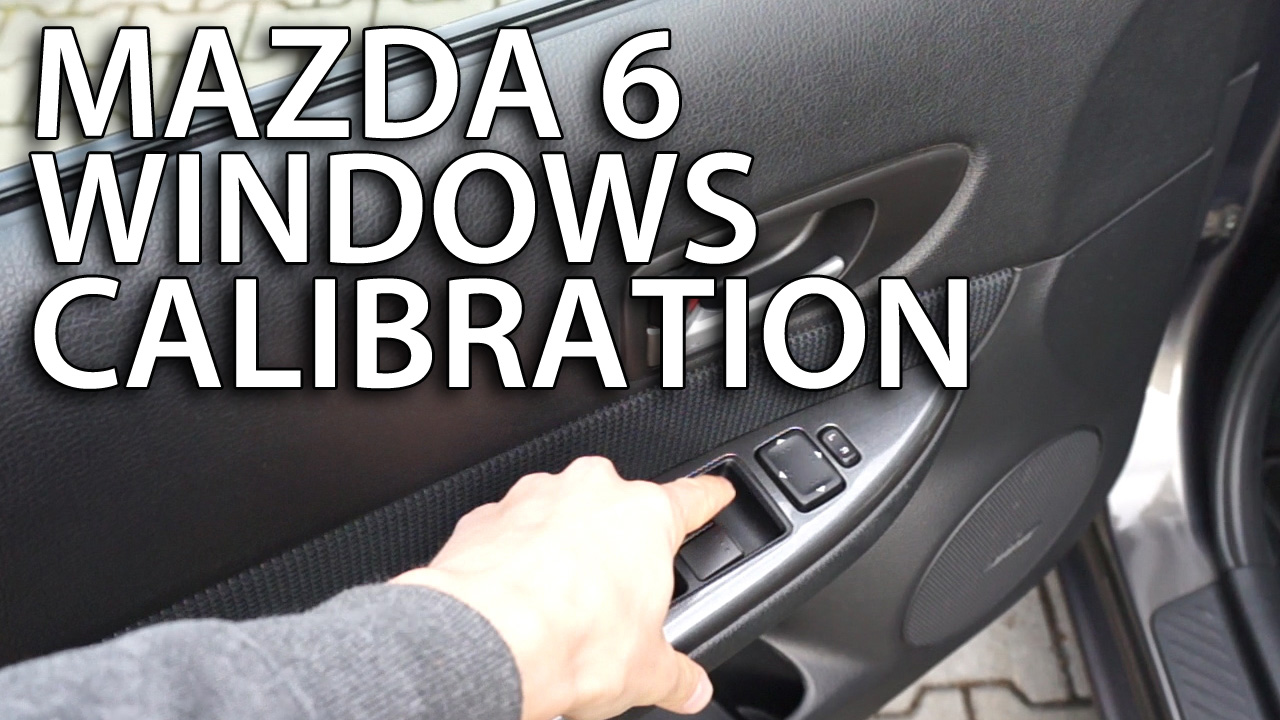 Mazda Automatic Windows Programming 6 Power Window Wiring Diagram Calibration