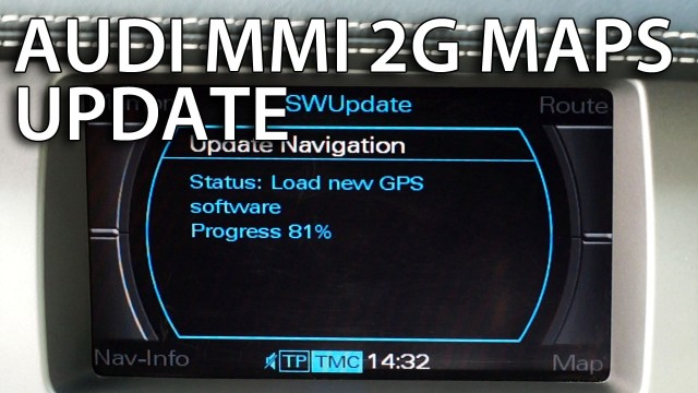 Audi MMI 2g maps update