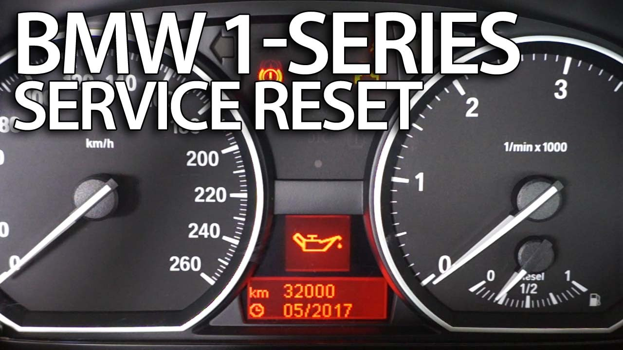 Bmw 1 Series Service Reset E81 E82 E87 E88 Mr Fix Info
