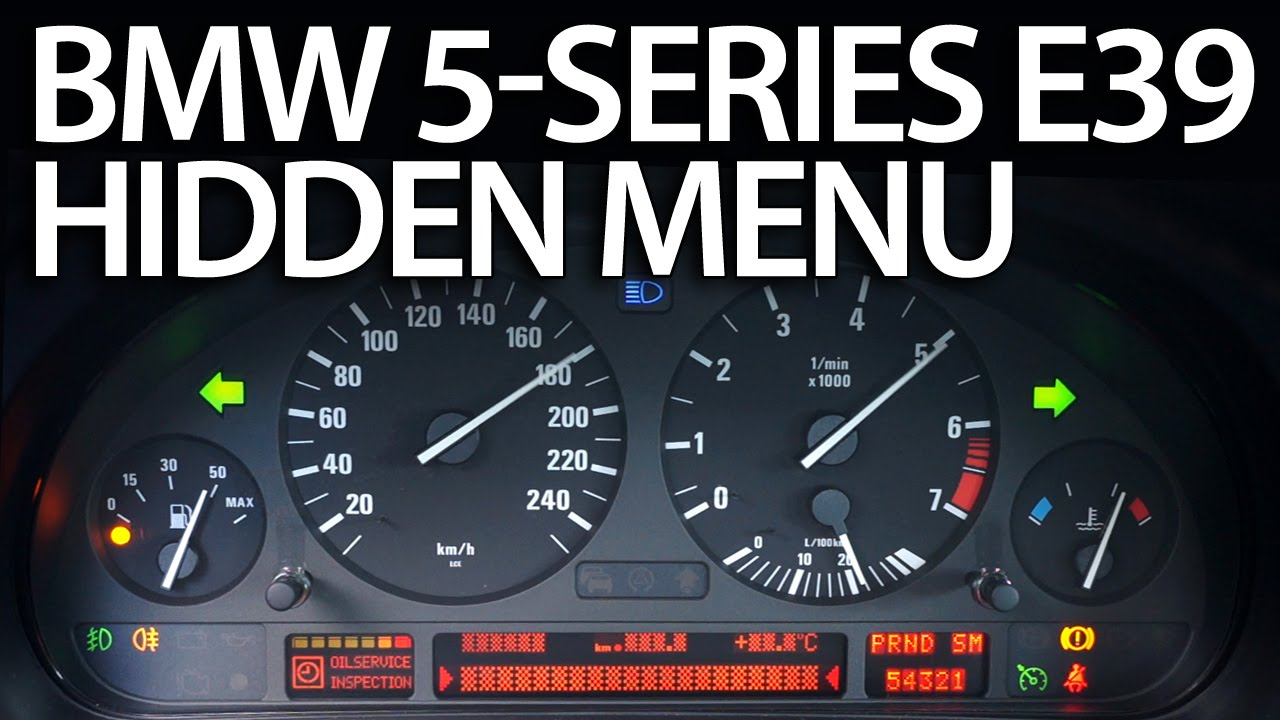Bmw E39 Obc Hidden Menu Diagnostic Mode Mr Fix Info
