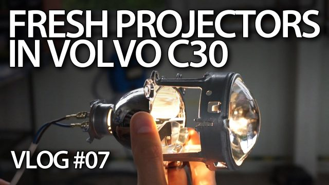 Fresh projectors in Volvo C30