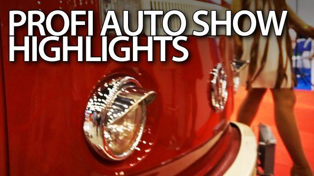 VLOG - Profi Auto Show 2016 highlights (Katowice, Poland)