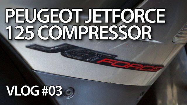 VLOG - Saving Peugeot JetForce 125 Compressor motorbike