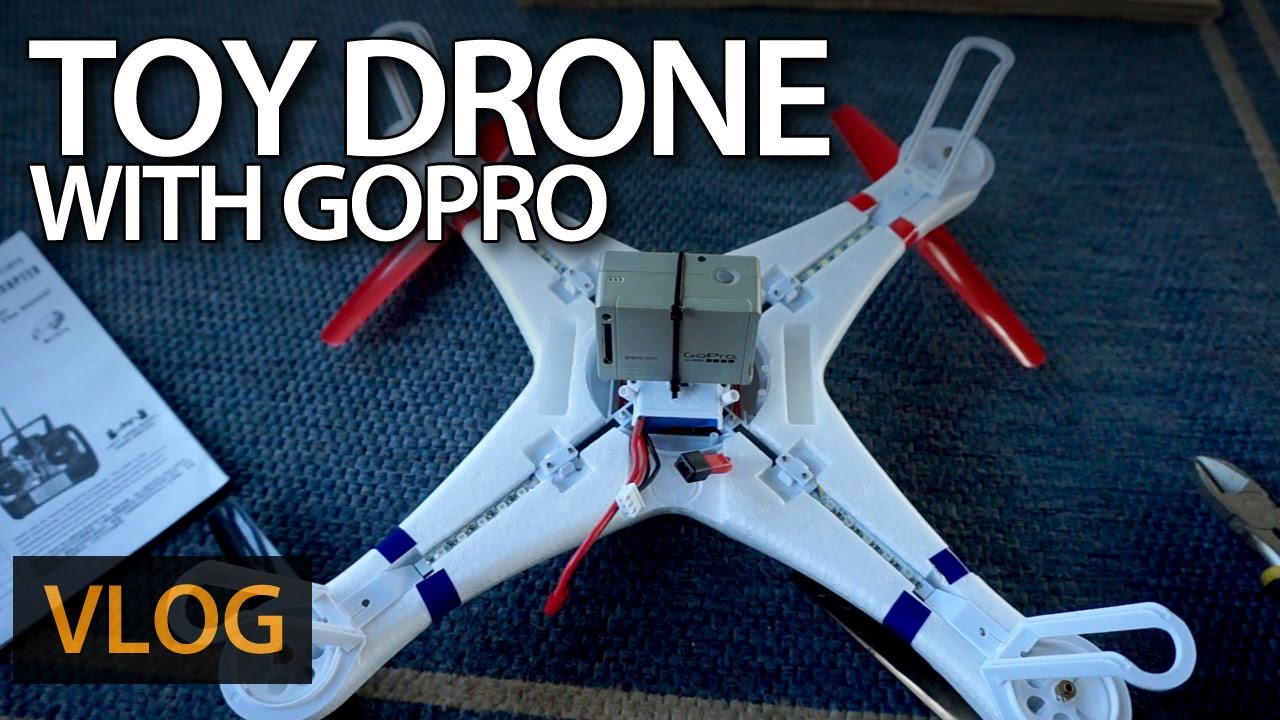 Toy drone with GoPro
