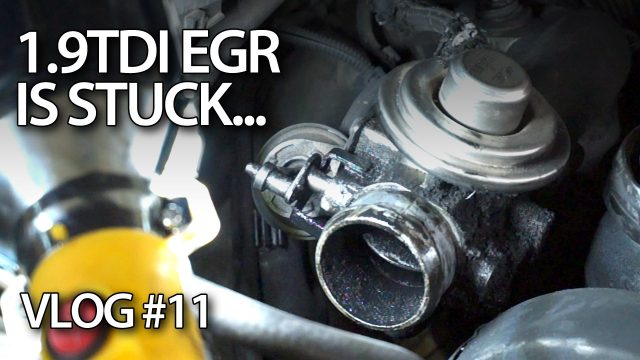 1.9TDI EGR valve is stuck. I failed