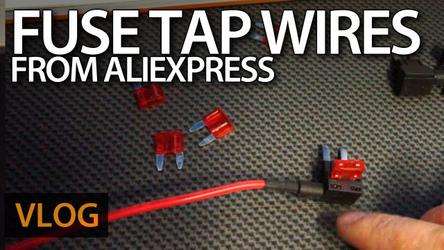 Fuse tap wires from AliExpress
